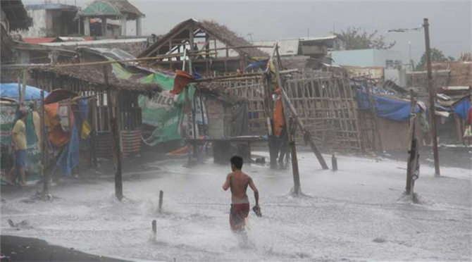 Record year for Pacific hurricanes, typhoons