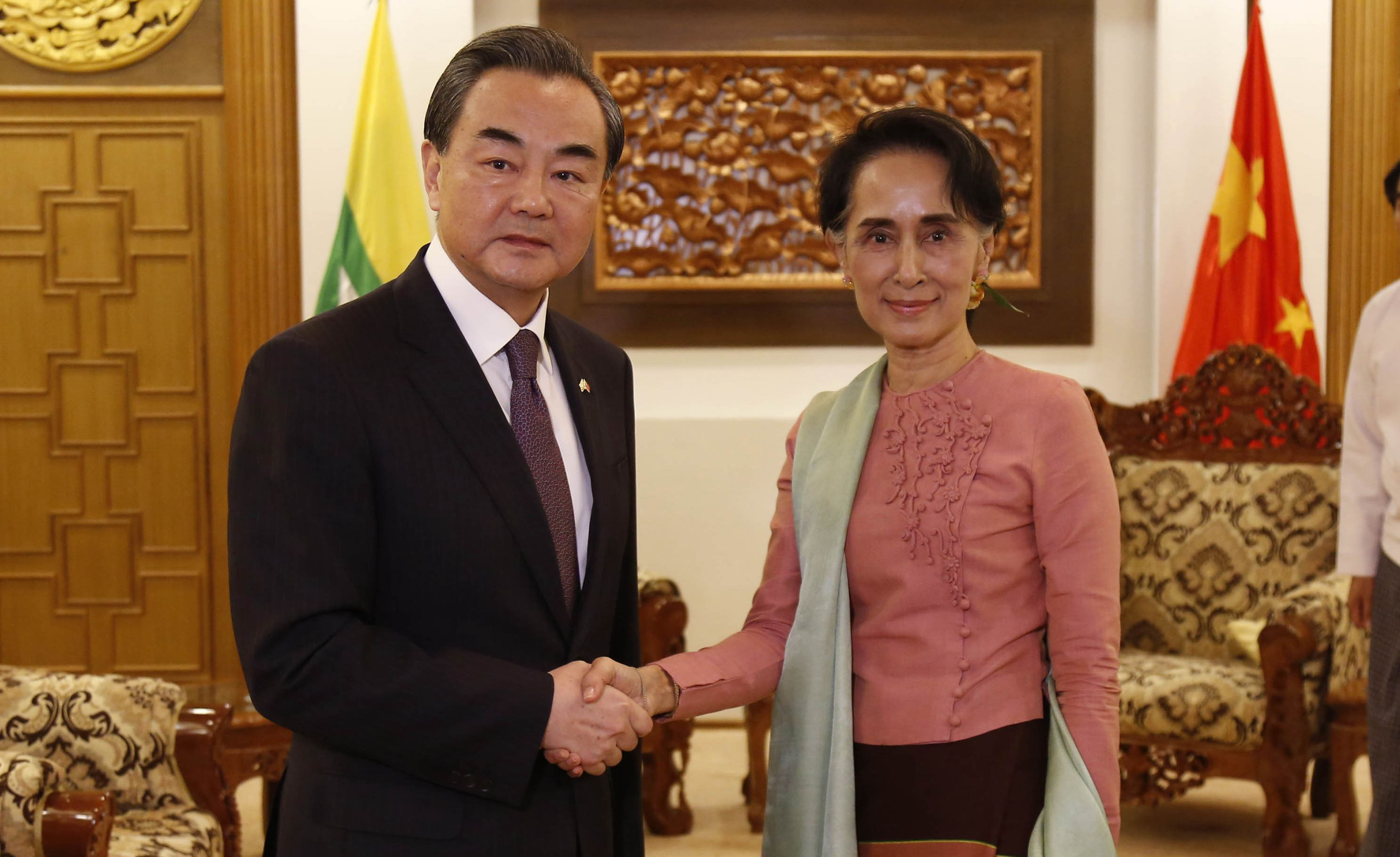 Chinese Foreign Minister Wang Yi visits Myanmar