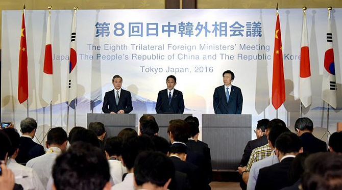 China, Japan, ROK oppose DPRK's latest missile launch