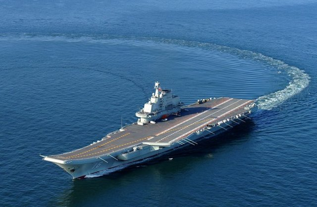 PLA confirms aircraft carrier Liaoning passed through Taiwan Straits on Thursday
