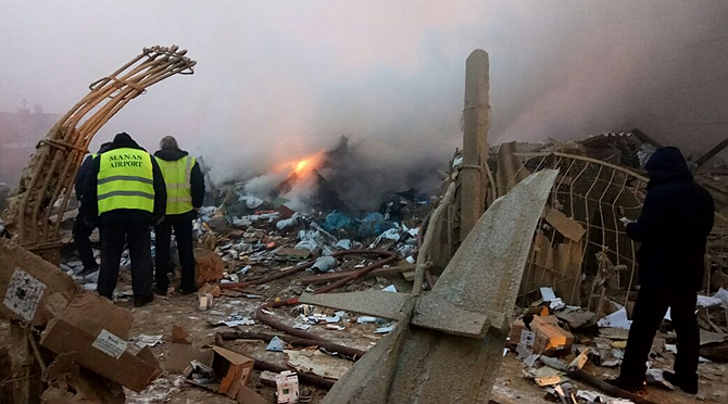 ACT airline says crash of cargo plane not caused by technical or loading problems