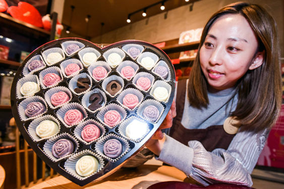 Chocoholics in China lean towards western brands