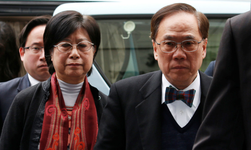Former HK chief executive Donald Tsang jailed 20 months for misconduct