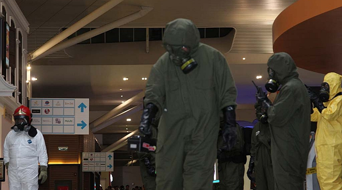 """Malaysian airport declared """"safe zone"""" after VX nerve agent found in dead DPRK man"""