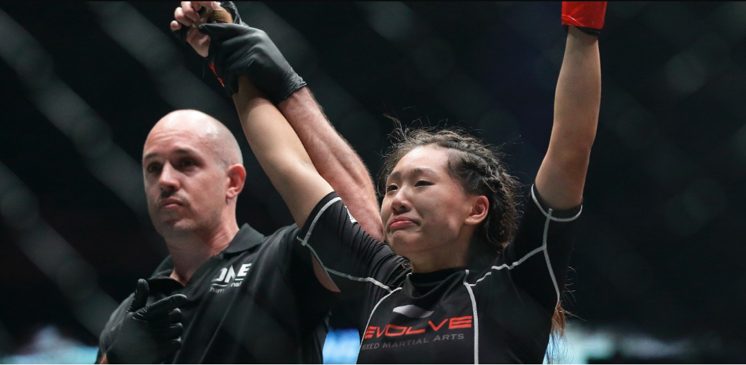 Angela Lee: The world's youngest MMA champion