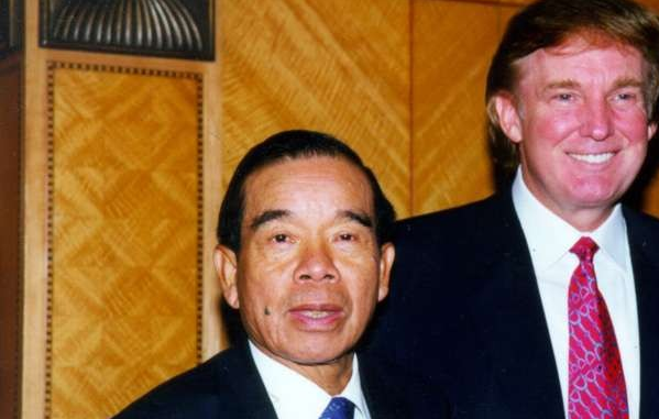 c.png Donald Trump with late New World Development patriarch Cheng Yu-tung in Hong Kong in November 1998. Photo: SCMP