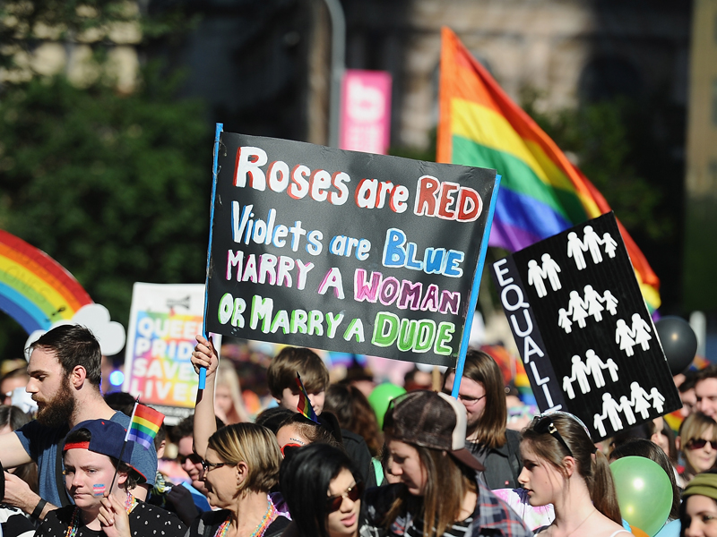 Who is against same sex marriage