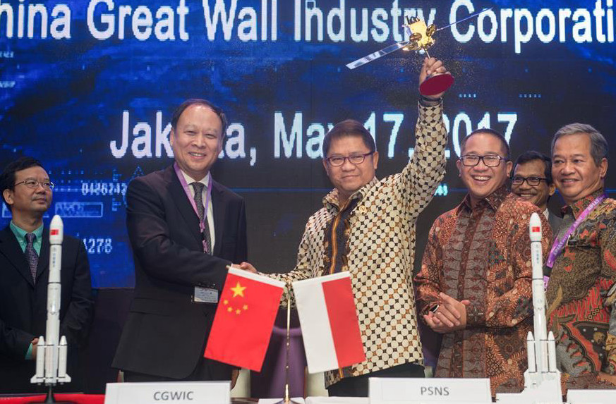 China to supply satellite for Indonesian telecommunication system