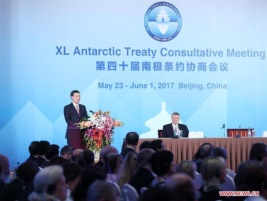 Chinese vice premier calls for better protection of Antarctica
