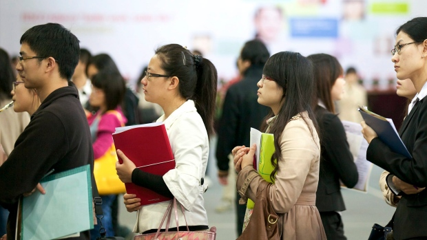 A third of Chinese graduates to work in first-tier cities