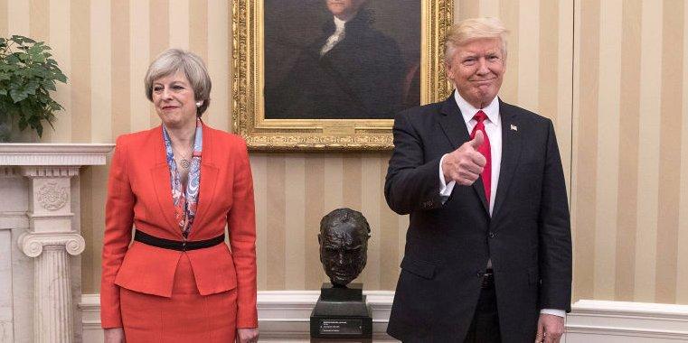 Britain resumes intelligence sharing with U.S. upon Trump promise