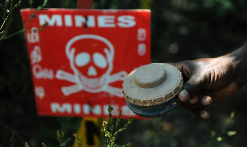 Sri Lanka to be free from landmines by 2020