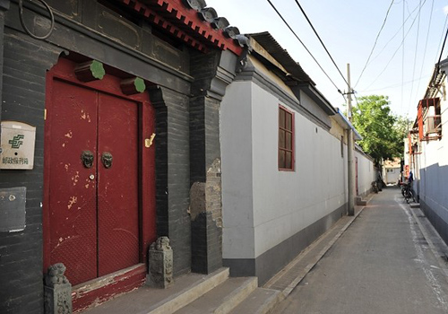 Across China: Painting the heart, soul of Beijing's hutongs