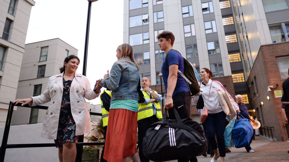 800 Camden homes evacuated after Grenfell fire
