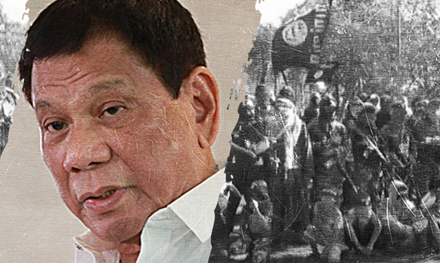Philippine President Duterte : ISIS are responsible for the Marawi seige