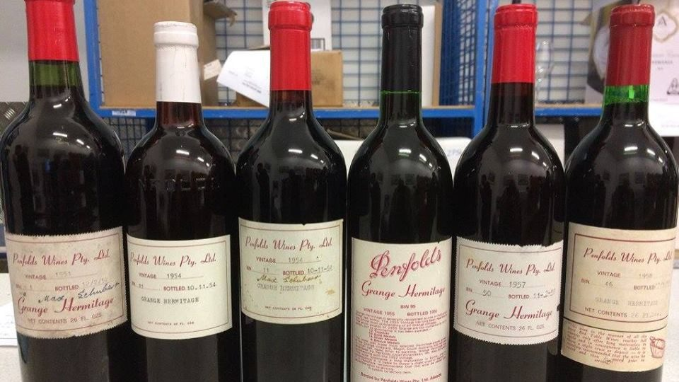 60-year-old bottle of Australian wine sold for over 41,000 USD