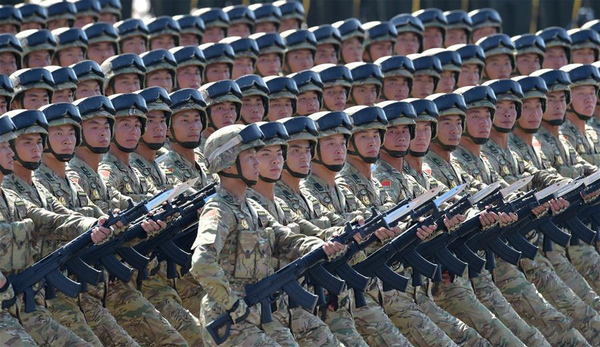 Big year for China's military as PLA to celebrate 90th birthday